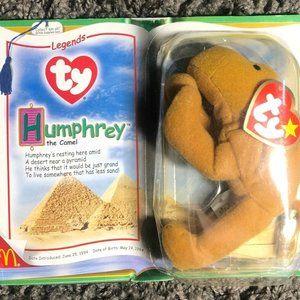 Ty Teenie Beanie Babies  Legends Humphrey the Came
